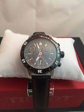Tissot T067.417.26.051.00 PRS 200 black Chronograph Dial Watch