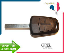 Coque Télécommande Plip Bouton Opel AGILA MERIVA CORSA ASTRA + clé vierge