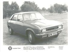 Austin Allegro 1300 Super 4 door original b&w Press Photo No. 260269