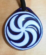 Sargadelos Porcelain Armea Celtic Pendant Necklace - NEW