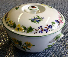 Royal Worcester Herb Round Covered Dish