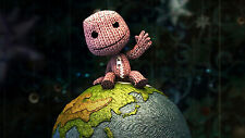 Little Big Planet - Huge Wall  Poster  22 IN x 34 IN( Fast Shipping ) inTube 101