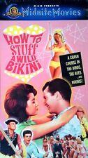 HOW TO STUFF A WILD BIKINI - ANNETTE, DWAYNE HICKMAN - VHS TAPE - IN SHRINK