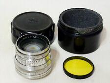 JUPITER-8 silver 2/50mm Sonnar copy M39 KMZ Lens for RF Leica FED Zorki #6016839