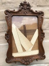 A Stunning Louis Seize/ XV  Picture Frame hand carved in oak
