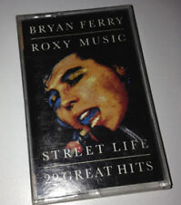 BRYAN FERRY / ROXY MUSIC - Street Life 20 Great Hits - Cassette Tape - EX