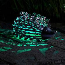 Smart Solar Silhouette Hedgehog Metal Garden Patio Path Solar Lighting Ornament
