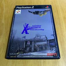 Japanische Playstation 2 ps2 NTSC-J-Winter X Games Snowboarding