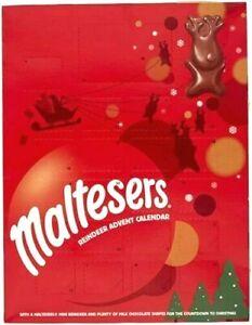 Maltesers Advent Calendar 2021 Christmas Countdown Chocolates Treats Sweets