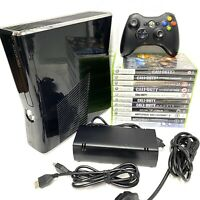 Xbox 360 250GB Call of Duty Console Bundle Wireless Controller & Leads 11 Games