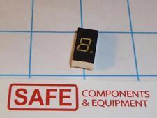 "LN513YK LED 7-Segment+ Decimal Yellow 1-Digit 0.3"" Comm Cathode 2.1V 60mW R43-17"