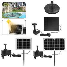 Profi Solarpumpe Wasserspiel Springbrunnen Teichpumpe Gartenteich Teich Brunnen