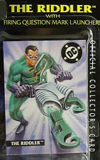 Batman Riddler - Legends of, Sealed Kenner Mint Action Figure on Near Card '95