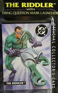 Batman Riddler - Legends of, Sealed Kenner Mint Action Figure on Near Card '95