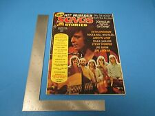 Vintage 1973 August New Hit Parader Songs And Stories Magazine 68 pgs. M513