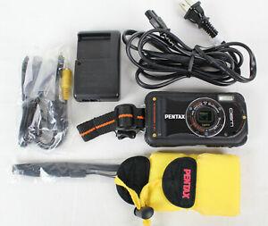 Pentax Optio W90 12.1 MP Waterproof Digital Camera w/ 4GB SD Card