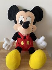 New listing Vintage Classic Disney Mickey Mouse Plush Large With Bow Tie