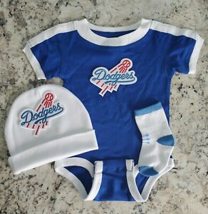 Dodgers newborn/baby clothes Dodgers baby gift Dodgers baseball baby