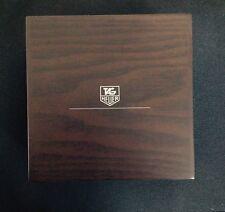 box scatola porta orologio TAG HEUER in legno