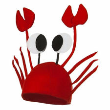 Funny Red Crayfish Animal Hat Christmas Party Props Headdress Kids Fun Gift 1Pc
