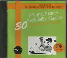 30 ORIGINAL HISTORIC ROCKABILLY CLASSICS - CD - Vol. 2 - BRAND NEW