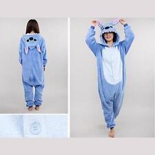 Kigurumi Pijama Unisex Ropa de noche vestido Cosplay Animal Onesize Stitch
