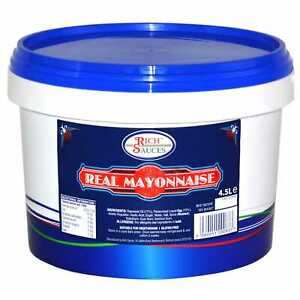 Rich Sauces Real Mayonnaise - 1x4.5ltr