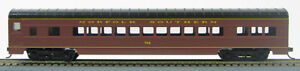HO 72 Ft Norfolk Southern Passenger Pullman Sleeper Car Tuscan Red (1-991)