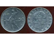 ITALIE  ITALY  50 lire 1968