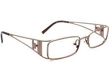 Versace Eyeglasses MOD. 1111 1013 Brown Metal Frame Italy 49[]17 135