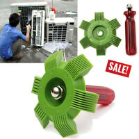 Air Conditioner Fin Repair Comb Brush Condenser Refrigeration Tools Kits New
