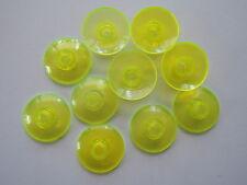 Lego 10 x Satschüssel Radar 4740  transparent neon grün 2x2 3569 6982 1382 6988