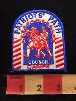 Patriots Patch Council Camps Boy Scouts Patch Revolutionary Drummers 85N6