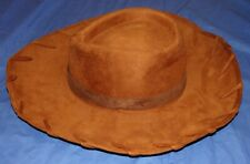 Disney Pixar Toy Story Woody Cowboy Western Hat Sturdy Adult One Size Costume
