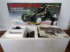 RARE! 80's Nikko Japan 1/14 Frame Buggy Super Fox 4WD MIB Taiyo Tyco