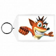 "Playstation Ps1 Ps2 Ps3 "" Crash Bandicoot "" Video Game Keychain #3"