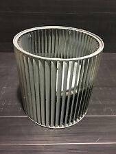 HVAC squirrel cage fan wheel