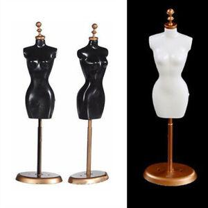 2Pcs 1/6 Doll Dress Display Holder Garment Gown Mannequin Model Support Stands