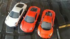 Scalextric Ferrari's and McLaren