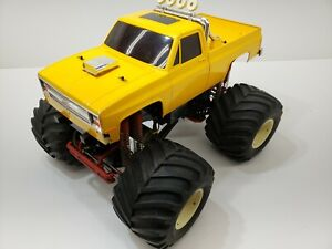 1ST EDITION CHEVY BODY TAMIYA CLODBUSTER OVERALL GOOD CONDITION SEE PICS