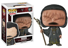 VIKINGS VINYL FIGURE POP FUNKO THE SEER JOHN KAVANAGH VICHINGHI SERIE TV STATUE