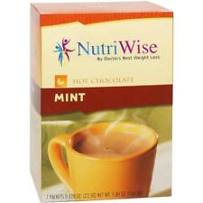 NUTRIWISE | Mint Diet Hot Chocolate | High Protein, Low Fat, Low Carb, Low Sugar
