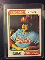 1974 Topps #120 Wilbur Wood White Sox