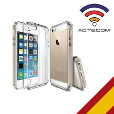 ACTECOM® FUNDA 360  DOBLE GEL SILICONA TRANSPARENTE PARA IPHONE 5 5S SE