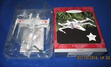 HALLMARK ORNAMENT STAR WARS 1998 X-WING STARFIGHTER~NEW~TESTED~BOX GOOD W/TAG!