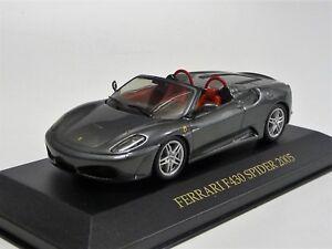 Ferrari F430 Spider grau-metallic  IXO/Hotwheels FER019 Neu in OVP 1/43