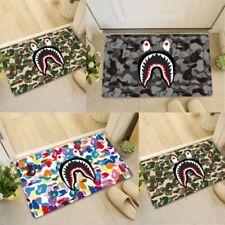 A Bathing Ape Shark BAPE Doormat Soft Non-slip Bath Mat Floor Area Rugs Carpet