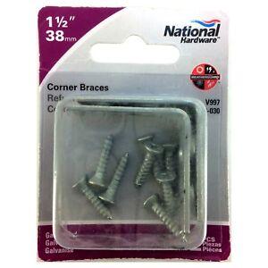Assessor Size,Brand, Steel Galvanized/Zinc Plated Corner Brace