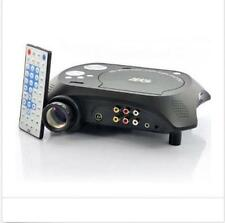 LED Multimedia Projector with DVD Movie Player 480x320 60 Lumens100:1