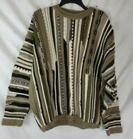 Vintage BACHRACH Men's XL Coogie Style Cosby 80s 90s Sweater Hip Hop Biggie